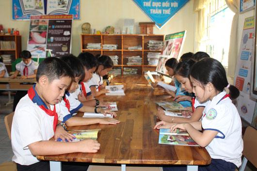Mô hình thư viện thân thiện và xây dựng văn hóa đọc được phát triển trong trường tiểu học