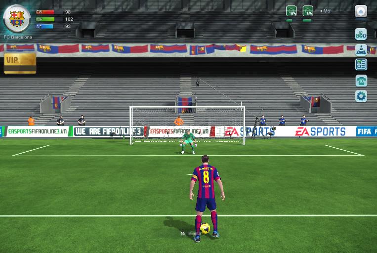 Cấu hình máy tính chơi game fifa online 4