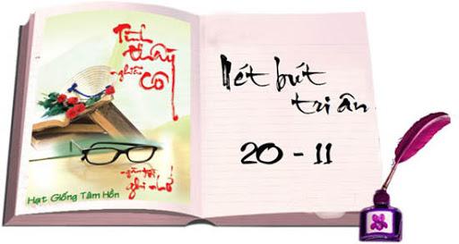 Lời thơ tri ân thầy cô 20/11